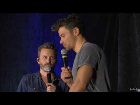 CharCon Matt Cohen Richard Speight Jr. and Rob Benedict FULL Panel R2M 2018 Supernatural