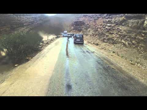 Todra Gorge: how NOT to cross a side river