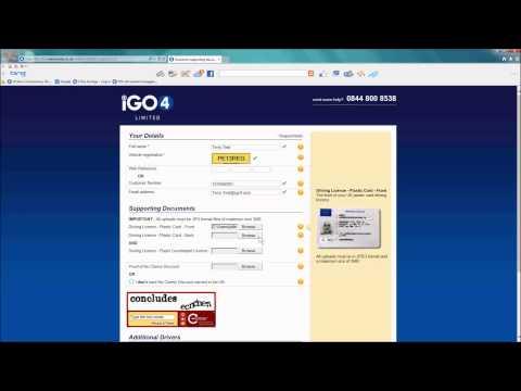 Upload Your Car Insurance Documents Online - PC iGO4 Insurance