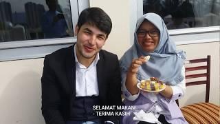 PRIA TURKI GANTENG INI MENIKAHI WANITA INDONESIA