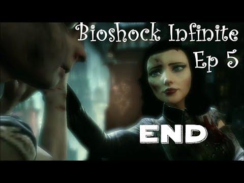 Bioshock Infinite - Burial at Sea Episode 2 Ep 5 The End LIETUVIŠKAI