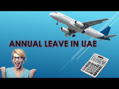 Annual Leave in UAE