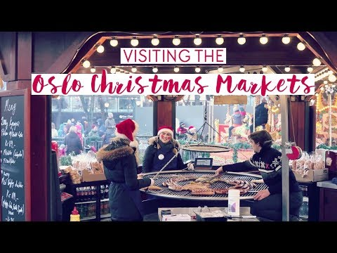 Visiting the OSLO CHRISTMAS MARKETS in Norway