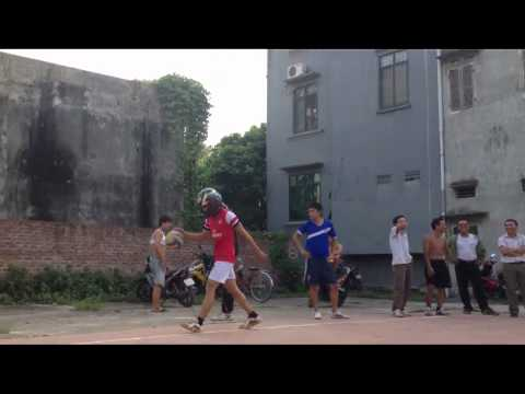 Đỉnh cao của đánh bóng chuyền tại Đình làng Nguyên Khê