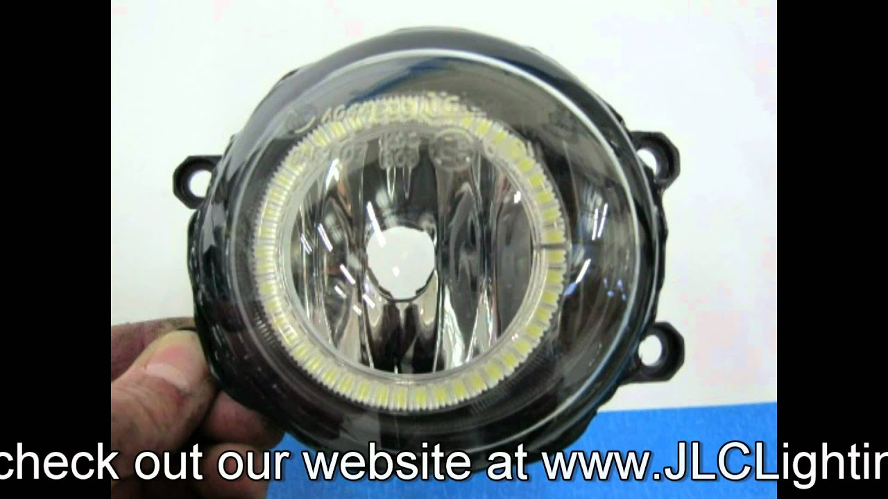 Lexus IS250 IS350 ISF LED Angel Eye Fog Lights by JLC