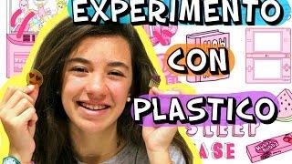 Repeat youtube video Experimento casero con plástico. DIY plástico magico