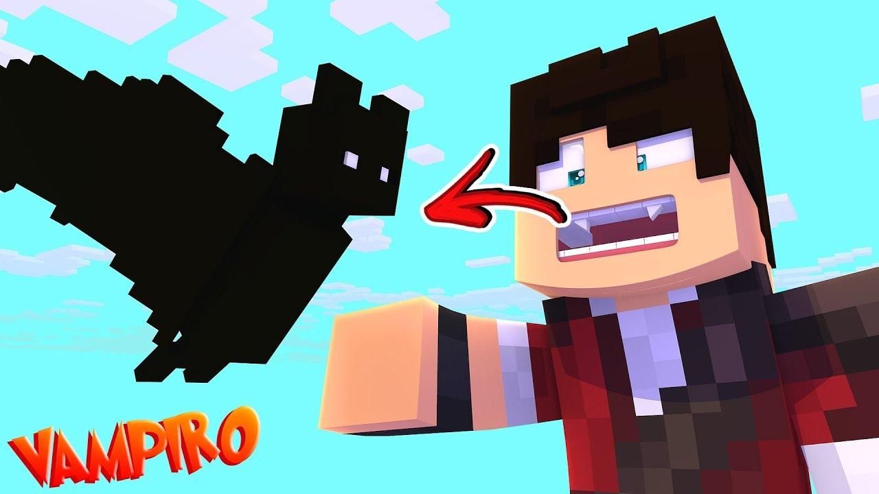 VIDA DE VAMPIRO - VIREI UM VAMPIRO !! - Minecraft ( 04/10 ) ‹ KIBOX ›