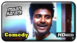 Maan Karate Tamil Movie - Full Comedy Part 2 | Sivakarthikeyan | Hansika | Sathish