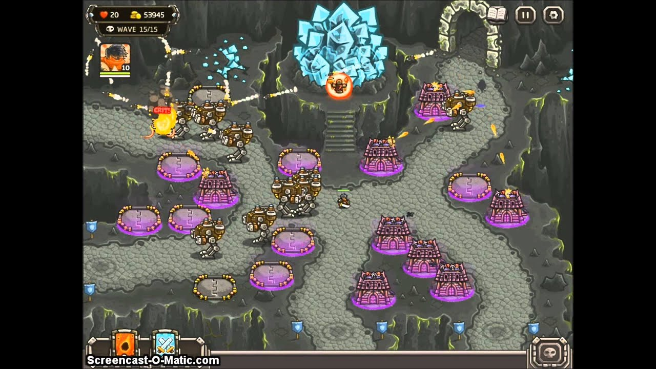 Kingdom Rush Frontiers Hacked - Super towers