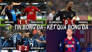 💥Tin bóng đá 21/2  Kết quả Vòng 1/16 Europa League: Bruno dự bị MU hòa may mắn, Arsenal thoát hiểm