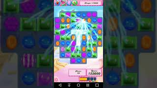 Candy Crush Level 1617 Completed no boosters 3 stars hard