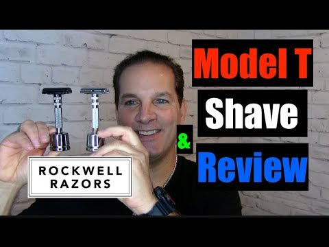Rockwell Model T Razor Shave & Review