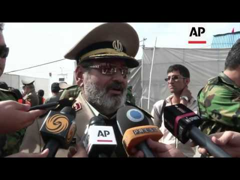 Parade as Iran celebrates National Army Day