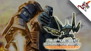 Supreme Commander: Forged Alliance - Mission 1 | Operation Black Day | UEF Campaign [HARD/1080p/HD]
