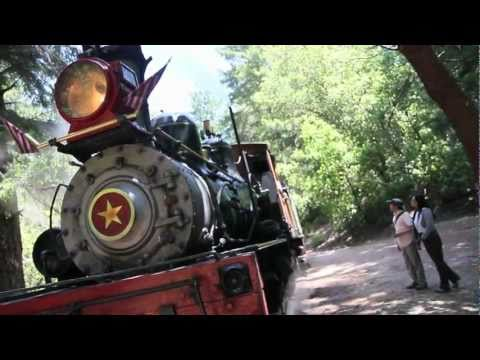 Santa Cruz Roaring Camp Steam Train Blow Down HD
