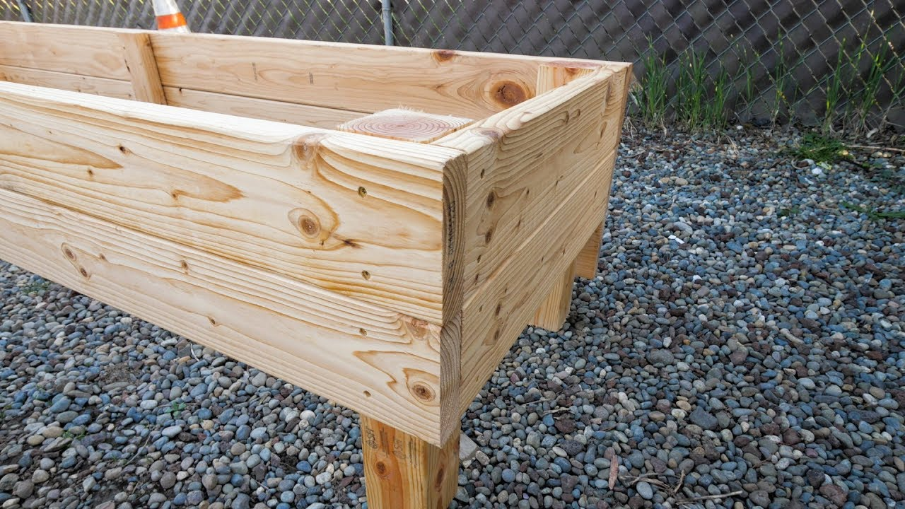Diy How To Build Raised Garden Beds For Sloped Yard Using