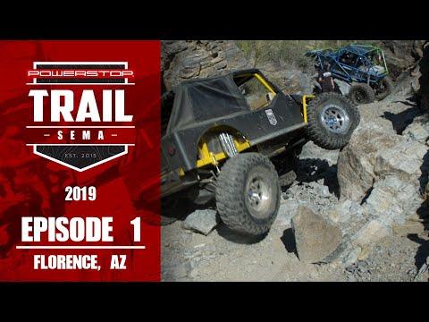 Trail To SEMA 2019 - Episode 1: Florence AZ