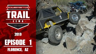 homepage tile video photo for Trail to SEMA 2019 - Episode 1: Florence AZ
