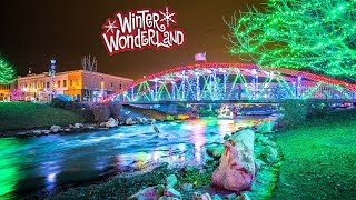 Winter Wonderland in the City of Caldwell Idaho