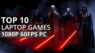 Top 10 PC Games for Laptops and Low Graphics Computers (1080P 60 FPS)