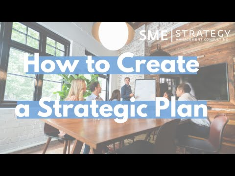 Strategic Planning process: How to Create a Strategic Plan