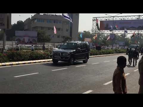 Narendra Modi And Benjamin Netanyahu Visited Ahmedabad For Road Show