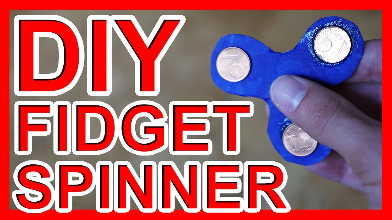 fidget spinner diy finger kreisel selber machen youtube. Black Bedroom Furniture Sets. Home Design Ideas