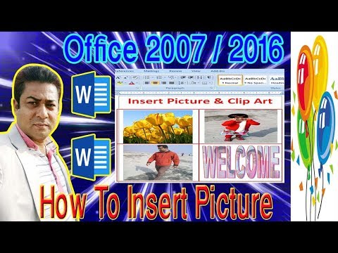 How to Insert Picture in word doc Table MS Word. Lesson-12