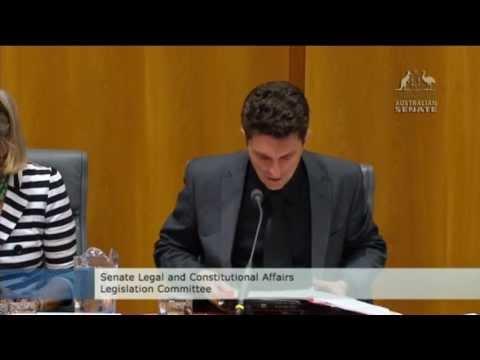 Australian Security Intelligence Organisation (ASIO) at Senate Estimates