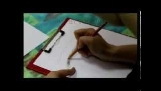 Как рисовать волоски на бровях (ЧАСТЬ 2)
