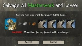 Salvaging 1,000 Unstable Rags | Guild Wars 2