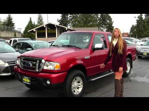 Virtual Walk Around Tour of a 2008 Ford Ranger XLT at Titus Will Ford in Tacoma, WA x7440