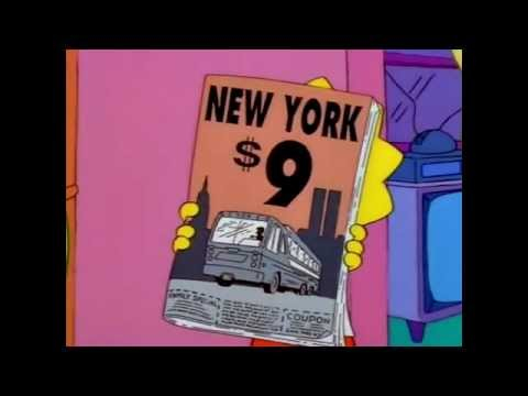 Pre 911~The Simpsons $9 || Twin Towers (World Trade Center)