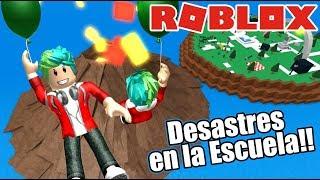 Disaster at school ? Roblox Natural Disaster Karim Games Play Roblox