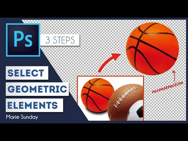 Photoshop CC Geometric Selections 2018