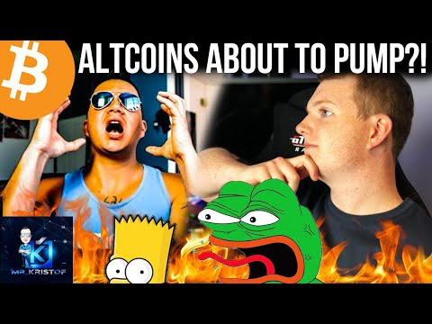 Bitcoin Chart SHOWS STRONG SIGNS OF ALTCOIN RALLY!!!!