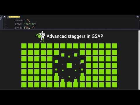 GreenSock | Docs | TimelineMax | staggerTo()