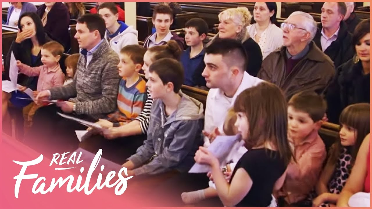 Family Of 18 Get 11 Kids Christened  | 16 Kids And Counting | Episode 2