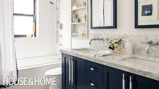 How To Inject Color Into Two Small Bathrooms