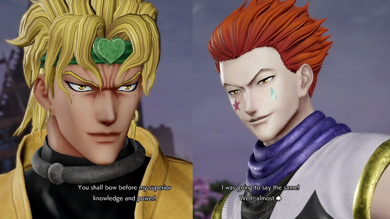 foto de Jump Force - Dio All Unique Special Quotes / Easter Eggs ...