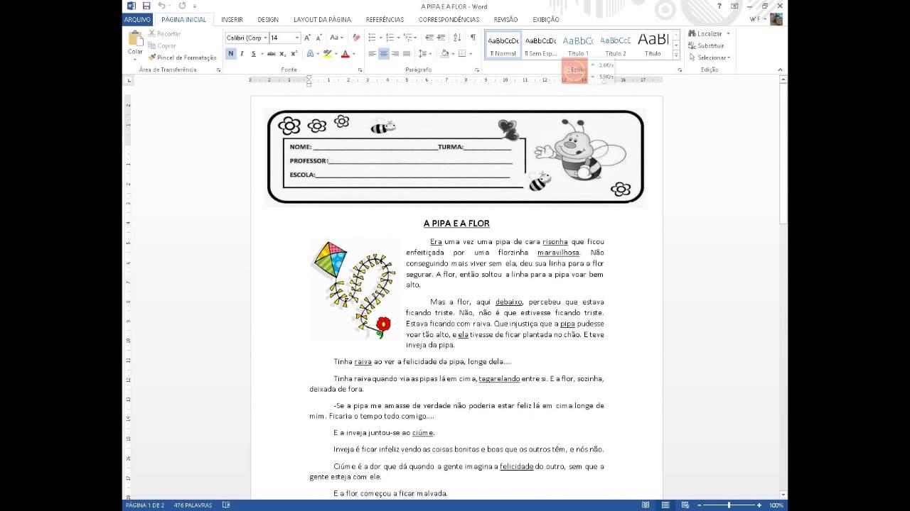 Doc pdf arquivo para