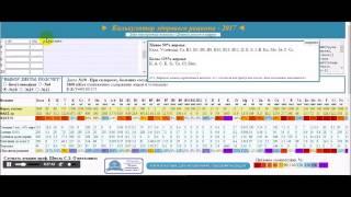 Калькулятор здорового питания / Инструкция по использованию / Healt diet