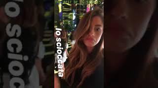 Chiara Nasti instagram stories 09 August 2018