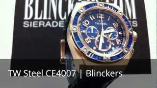 Horloge productvideo TW Steel CE4007 | Kelly Rowland | Blinckers.com