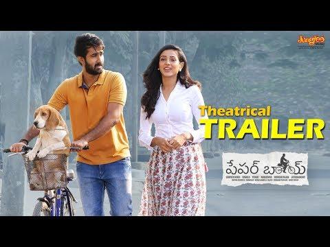 Paper Boy Theatrical Trailer | Santosh Shoban, Riya Suman,Tanya HopeJaya ShankarrSampath Nandi