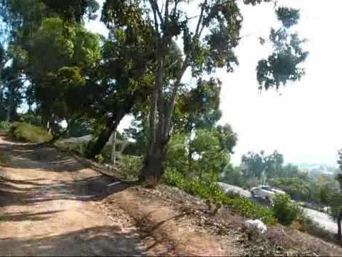 San Diego: Walking up to the Presidio