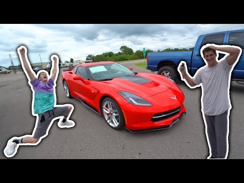 SURPRISING MY BEST FRIEND WITH HIS DREAM CAR!! *EMOTIONAL*