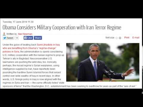 Obama Considers Military Cooperation with Iran Terror Regime