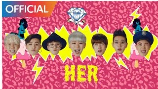 Repeat youtube video 블락비 (Block B) - HER MV