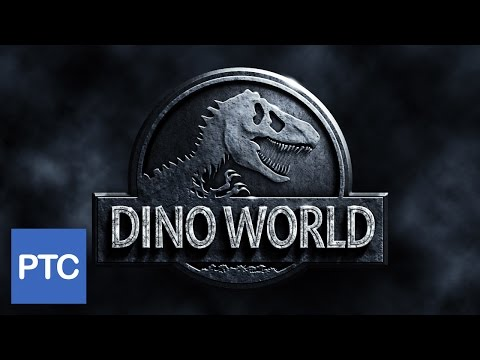 Jurassic World Movie Poster - Photoshop Tutorial